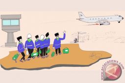 ANTARA Doeloe : warga Solo usaha charter pesawat antar Presiden ke tanah suci