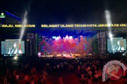 Isyana Sarasvati sambut HUT DKI di Jakarta Fair