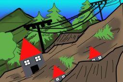 Dua desa Kabupaten Minahasa terdampak tanah longsor
