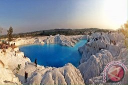 Bangka Tengah fokus kembangkan wisata tambang Danau Biru