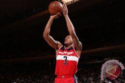Kombinasi John Wall dan Bradley Beal antar Wizards bekuk Knicks 106-103