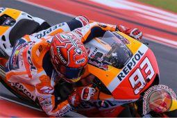 Marquez tercepat pada sesi pemanasan sebelum final MotoGP Valencia