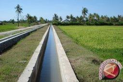 Menjamin pasokan air di daerah lumbung pangan