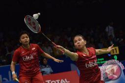 Greysia/Apriyani membuat Indonesia serikan 1-1 lawan Malaysia