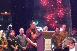 Djarot rayakan HUT DKI di Jakarta Fair Kemayoran