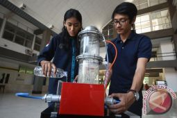 Lima mahasiswa ITS ciptakan mesin pengering padi