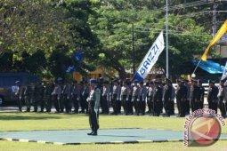 Polres Pohuwato Gelar Upacara Hut Bhayangkara