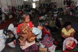 Tak Ada Penambahan Pengungsi Sinabung