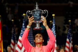 Nadal raih gelar ketiga AS Terbuka