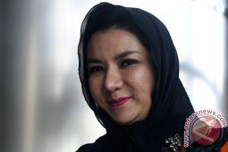 Rita Widyasari dikonfirmasi soal pemberian izin perkebunan