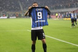 Icardi lewati Cavani jadi pencetak 100 gol termuda di Serie A