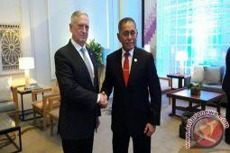 Menteri pertahanan Indonesia dan Amerika Serikat kembali bertemu