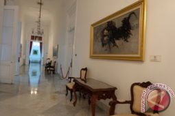 Mengenal Istana Kepresidenan - Lukisan perjuangan di Istana Yogyakarta