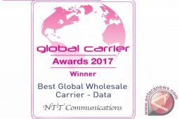 NTT Communications raih penghargaan Best Global Wholesale Carrier (Data) dan Best North American Wholesale Carrier pada Global Carrier Awards 2017