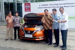 Nissan demonstrasikan teknologi e-Power