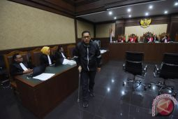 Anas Bersaksi Di Sidang KTP Elektronik