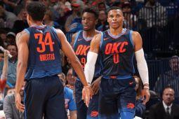 "Westbrook ""triple-double"", Thunder atasi Spurs"