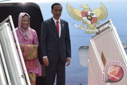 Presiden tiba di Jakarta akhiri kunjungan dari Turki
