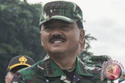 Panglima TNI jadi warga kehormatan Korps Marinir