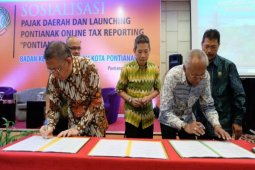 Pemkot luncurkan Pontianak online tax report