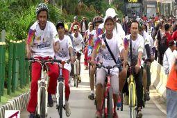 Bersepeda Santai, Semarakkan Ultah Antara