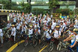 Sambut 10 Windu, LKBN Antara gelar Fun Bike