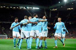 Klasemen Liga Inggris, Manchester City memimpin 14 poin
