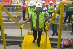 LRT Palembang diuji coba medio Februari-Maret