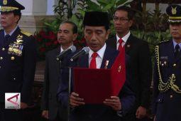 Presiden Lantik Empat Pejabat Baru
