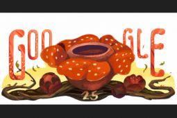 Google tampilkan keistimewaan Rafflesia arnoldii hari ini