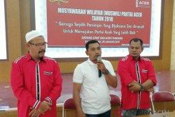 Bayou terpilih jadi Ketua DPW PA Tamiang