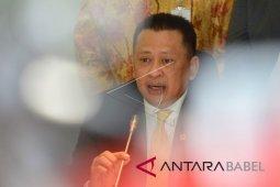 Ketika Ketua DPR Bambang  Soesatyo