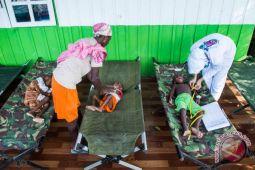 Polres Puncak Jaya bantu bahan makanan untuk warga Asmat
