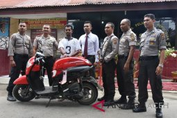 Polisi Bireuen tangkap tersangka curanmor