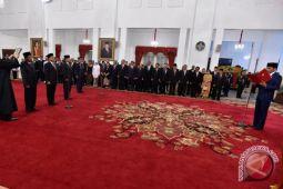 Presiden Lantik Pejabat Negara