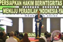 Presiden berikan pembekalan kepada 1.591 calon hakim