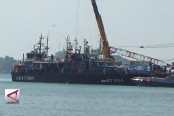 Pengungkapan 1,6 ton sabu di perairan Anambas