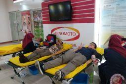 Ajinomoto adakan aksi donor darah serentak di 23 lokasi