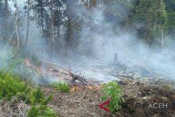 Gambut terbakar meluas capai 50 hektare di Aceh Selatan