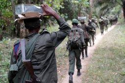 Lebih dari 57.000 orang melarikan diri dari Kongo ke Uganda