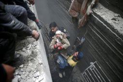 Bulan Sabit Merah siapkan evakuasi medis dari Ghouta Timur