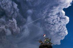 Aktivitas Gunung Sinabung sudah turun