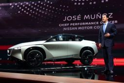 Nissan akan pajang tiga mobil listrik di Auto China 2018