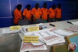 Uang palsu terbanyak beredar di Jabodetabek
