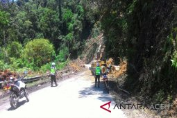 Polisi Singkil patroli rawan longsor di Subulussalam