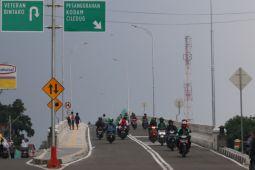 Flyover Bintaro Permai sudah dilengkapi rambu lalu lintas