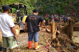 Kerusakan infrastruktur akibat banjir Aceh Selatan miliaran