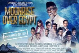 Resensi film : Moonrise Over Egypt - perjuangan diplomasi Agus Salim