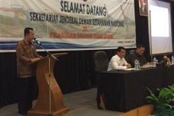 Wabup Muarojambi hadiri pertemuan dengan Setjen DKN