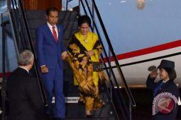Presiden Joko Widodo tiba di Selandia Baru